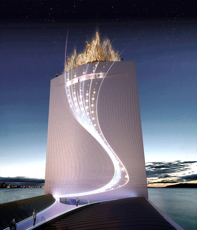 Solar Tower For The 2016 Olympic Games - Rio Dde Janeiro