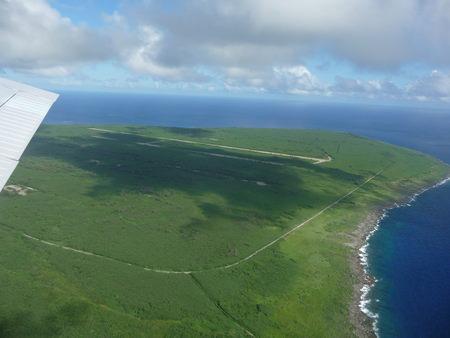 tinian islan - pacific ocean