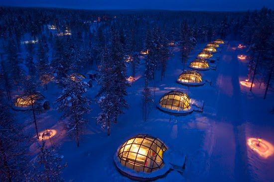 hotel igloo in finland