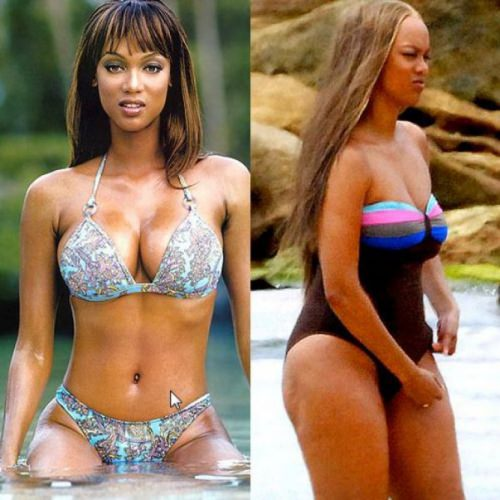 before and after Tyra bangs