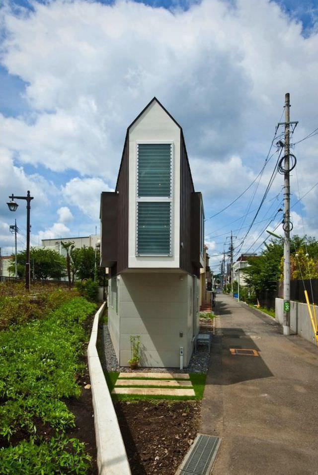 narrowest house photos