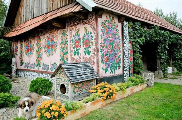 zalipie painted village