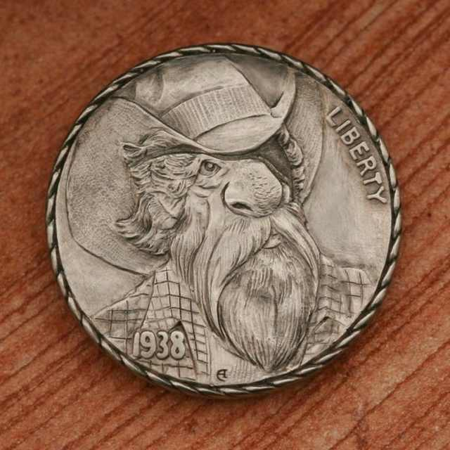 Coins Carved by Master Hands - Beautiful! | Art