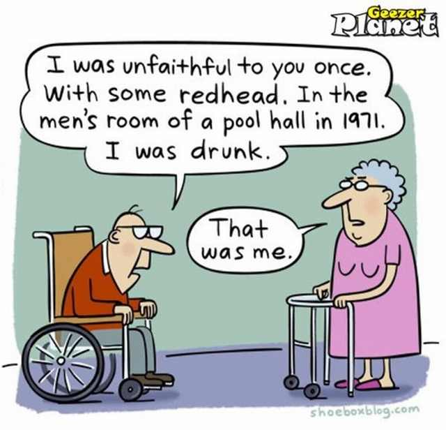 Hilarious old age cartoons | Funny