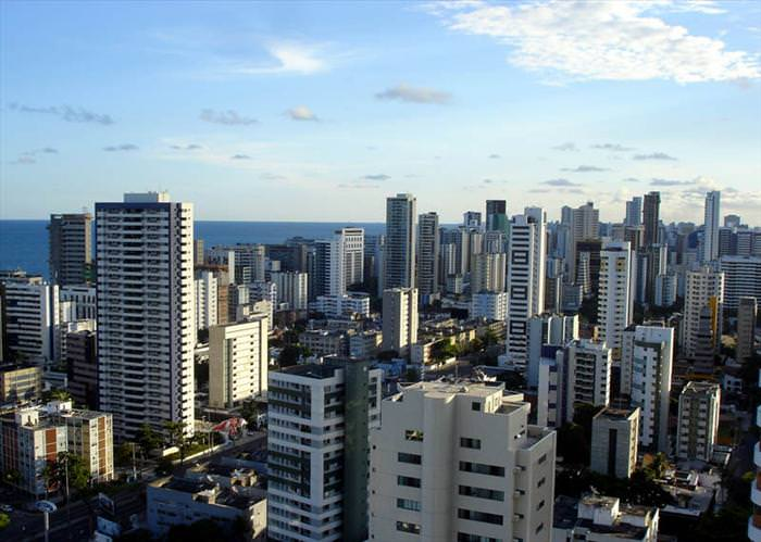 cities with high rise buildings