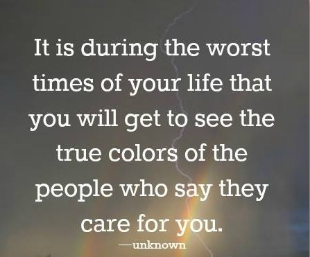 People\'s True Colors - Inspirational Quote | Spirituality