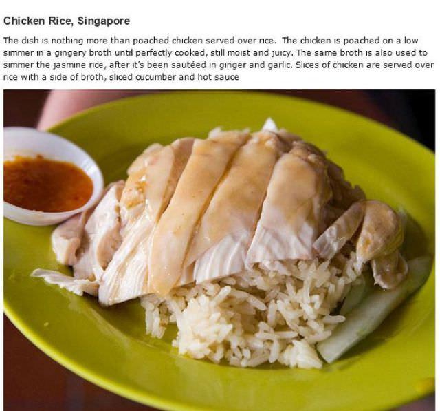 15 popular dishes