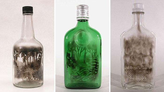 Bottled Paintings