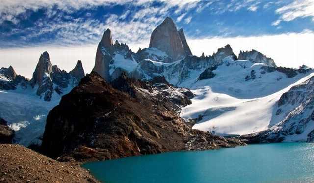 Hiking Fitz Roy Trek, Patagonia, Argentina