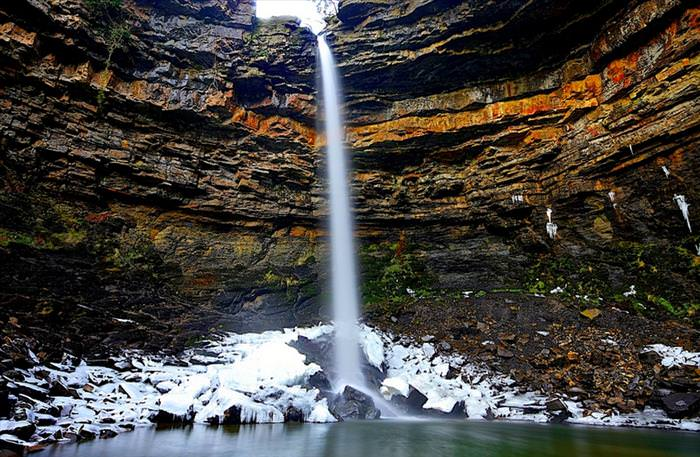 beautiful places in the UK Hardraw Force, Yorkshire Dales