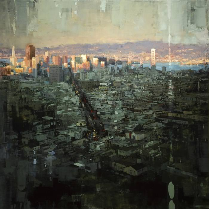 These Stunning Oil Paintings Show the Brooding Side of Cities
