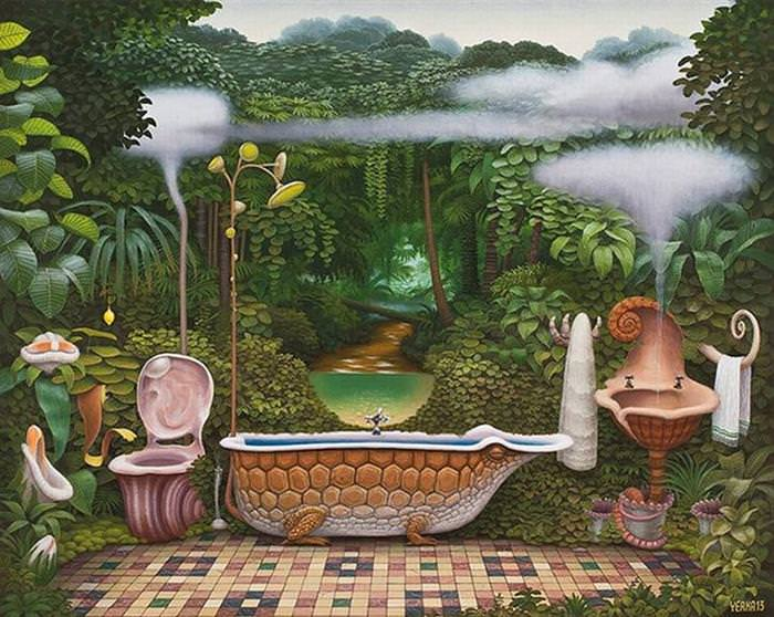 Be Swept into a Dream World with This Artist's Paintings