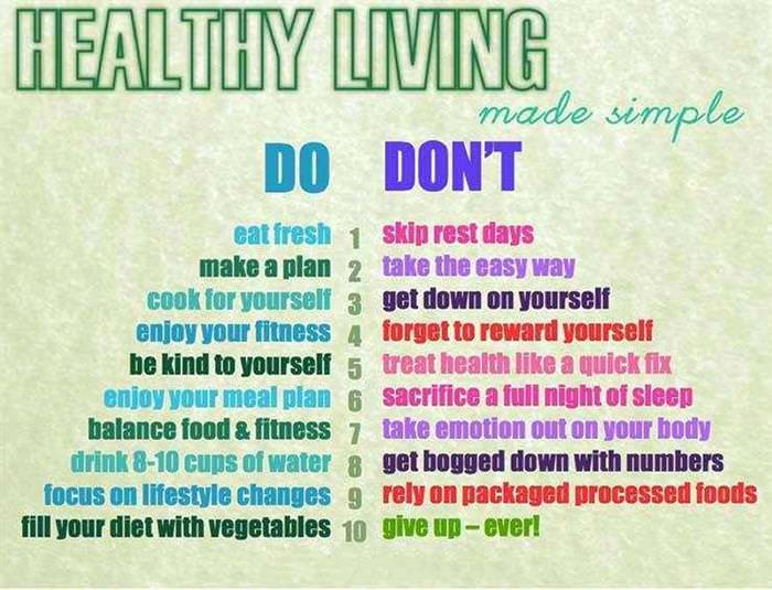 How to Live a Healthy Lifestyle Tips: 200 of our Best ...