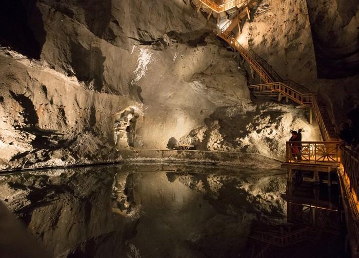 Poland Wieliczka Salt Mine