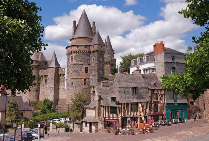 french castles Château de Vitre