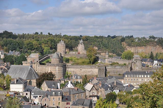 french castles Château de Fougères
