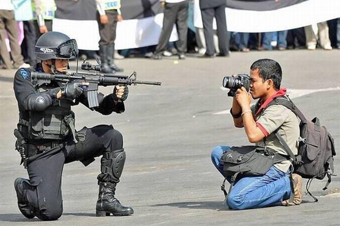 fotógrafos dedicados
