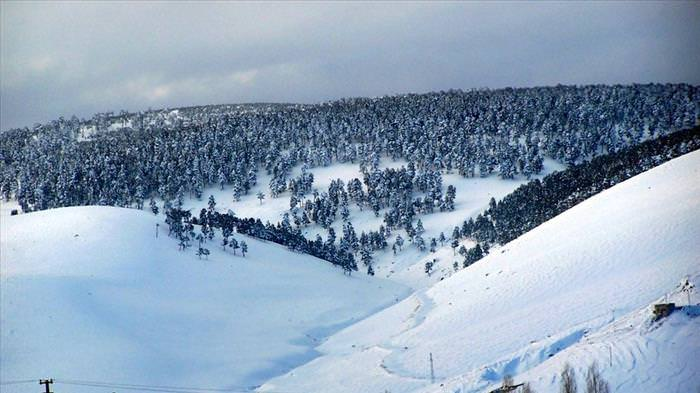 best places to visit in Turkey - Turkey's mountains,  lying between Palandöken in Erzurum and Erclyes in Kayse