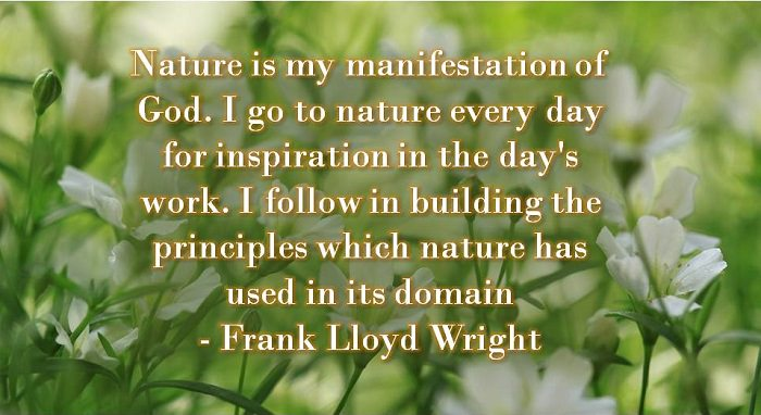 quotes about nature and god