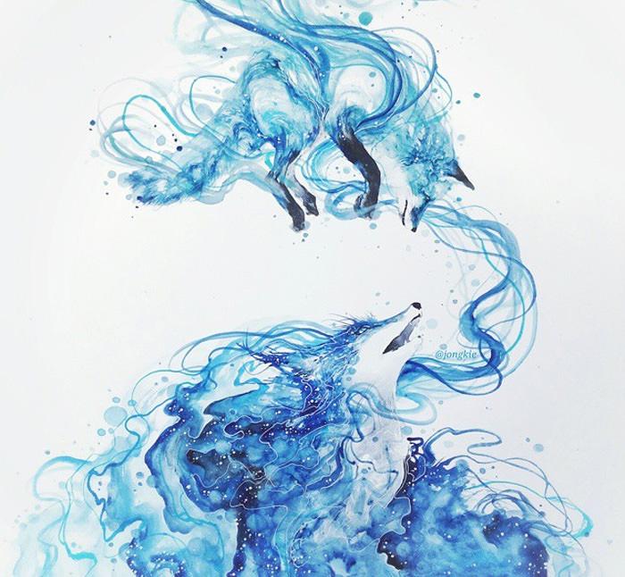 Animal Watercolor Art