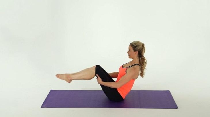 flat stomach, exercises
