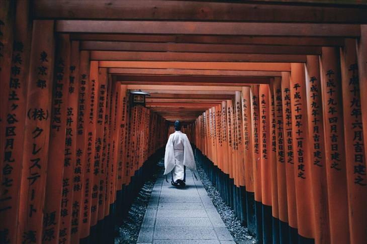 Fascinante imagens da vida diária no Japão