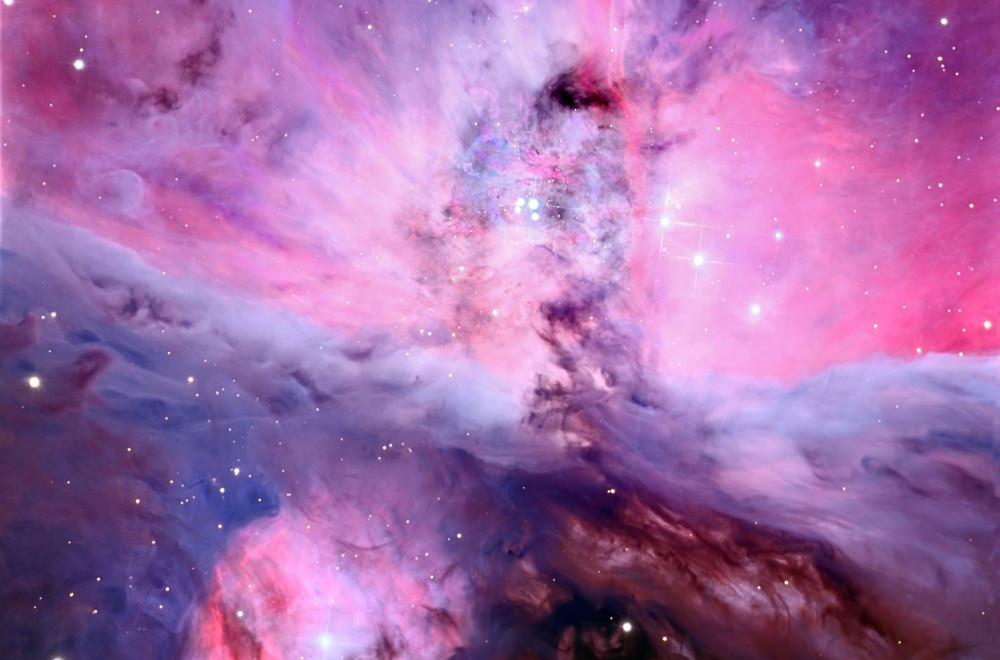 картинки космос рожевий является