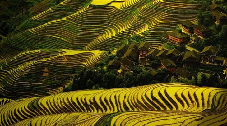 travel, pretty villages