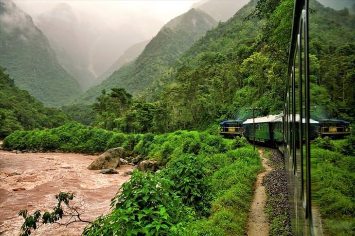 train rides, beautiful, nature, views