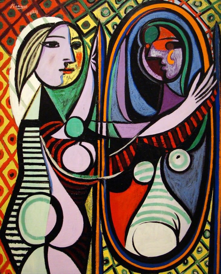 Picasso's Greatest Art Works: Girl before a mirror