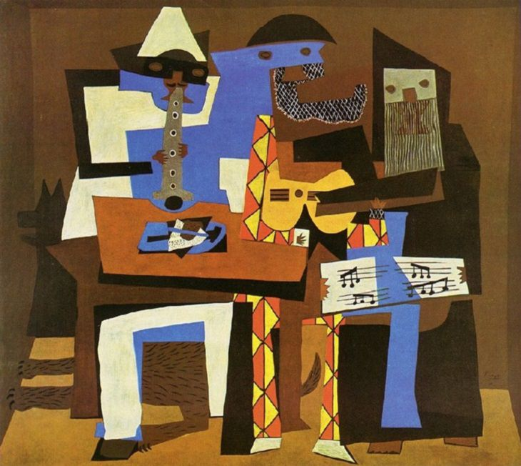 Picasso's Greatest Art Works: Three Musicians