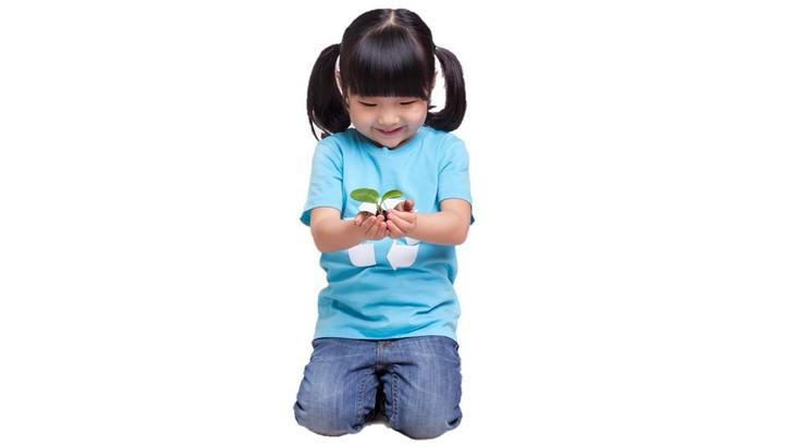 sitting, kneeling, pose, children, parenting