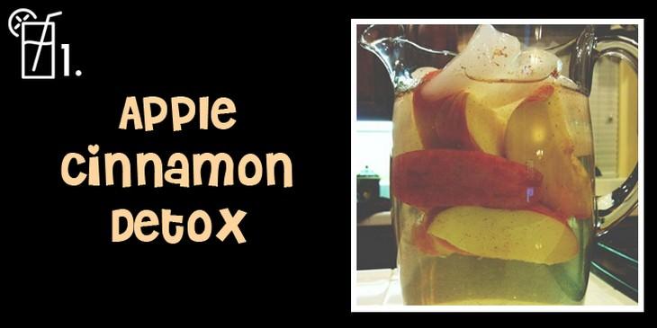 fruit drinks, water, detox, recipes