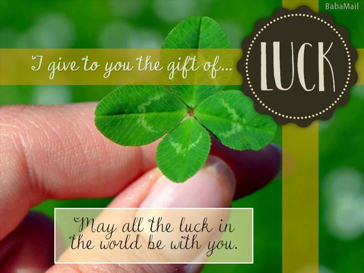 special gift of luck