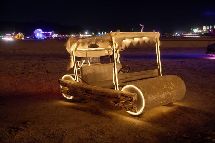 Art Cars Burning Man