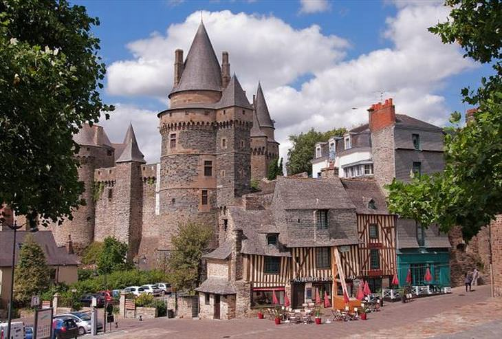 photos of French castles