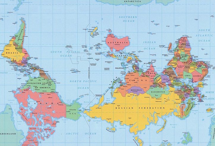 interesting world maps