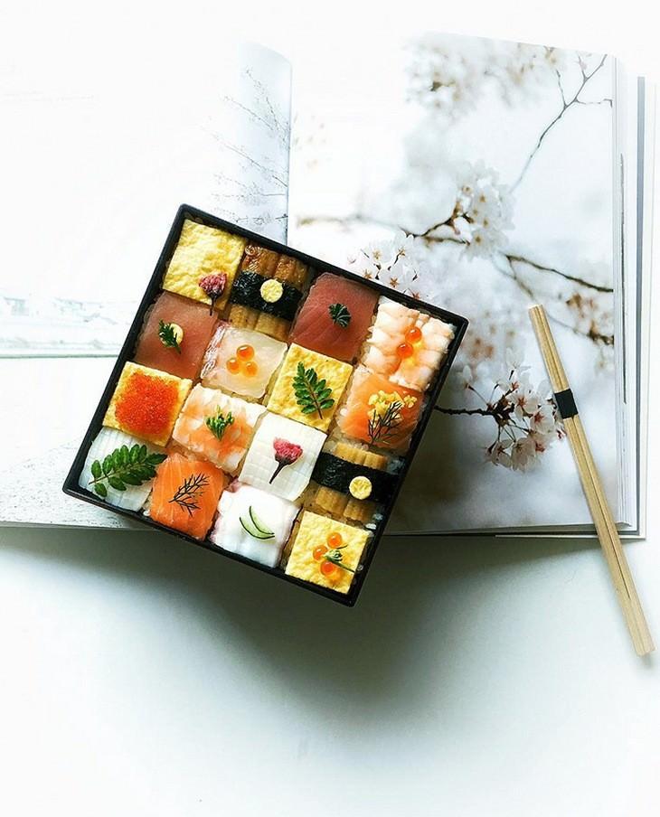 sushi, art