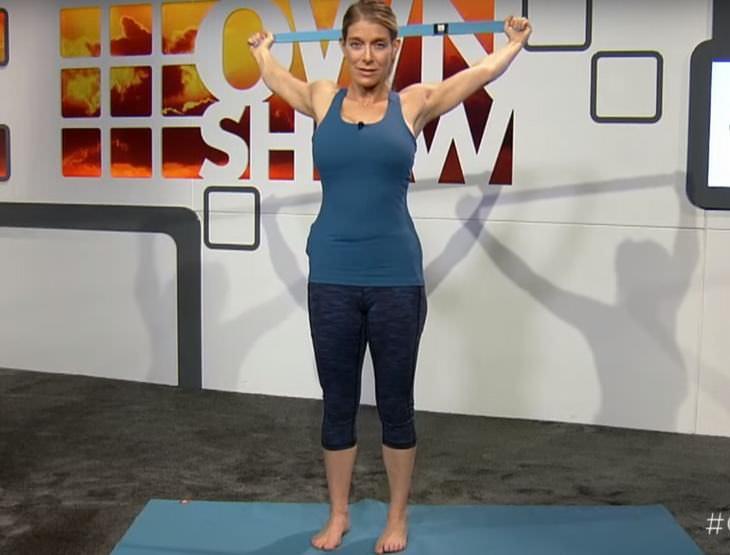 bad posture stretch