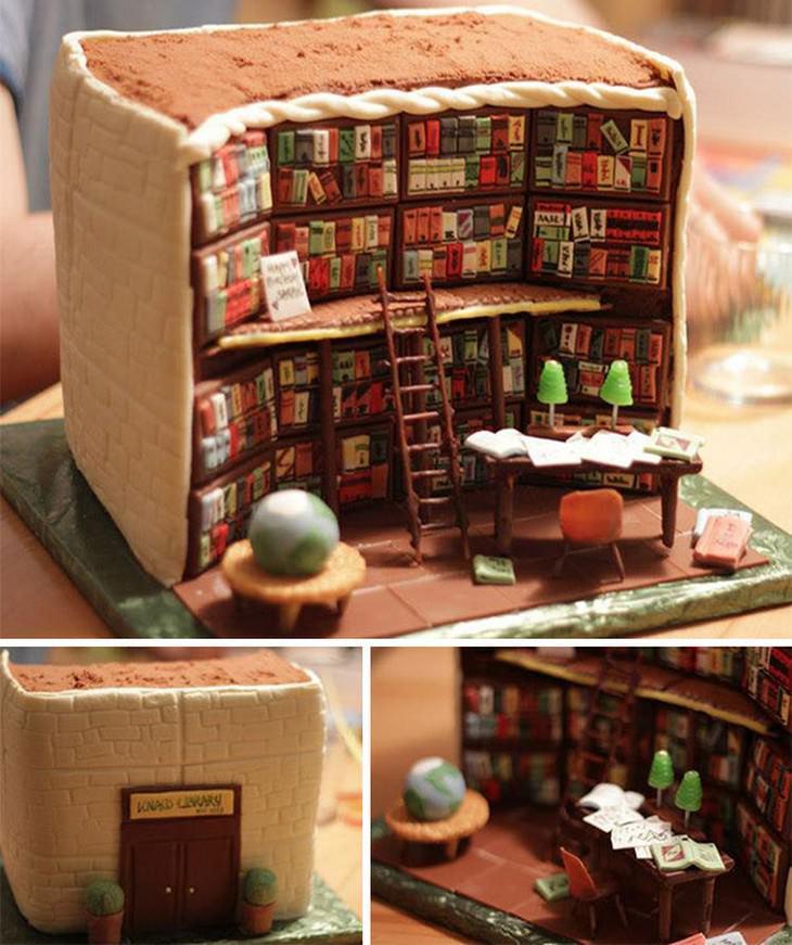 cakes, beautiful, artistic