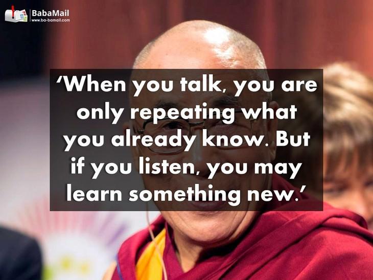 Dalai Lama, spiritual