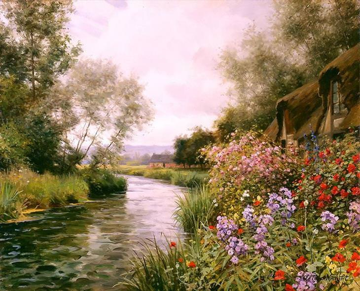 Louis Aston Knight, painting