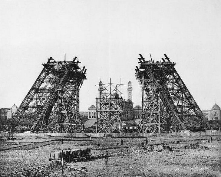 Eiffel tower, Paris, facts
