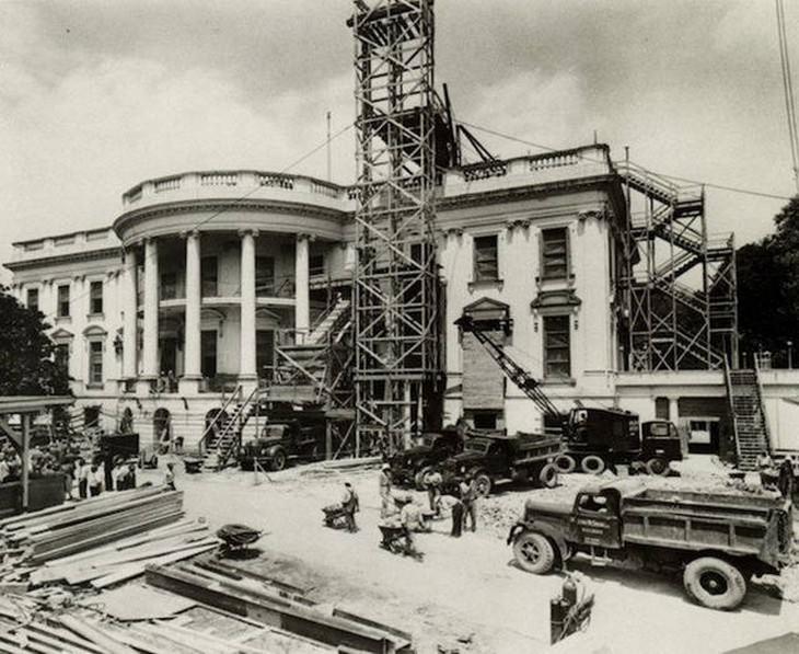 laborers, US, buildings, construction