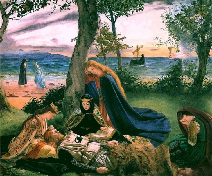Pinturas pré-rafaelitas