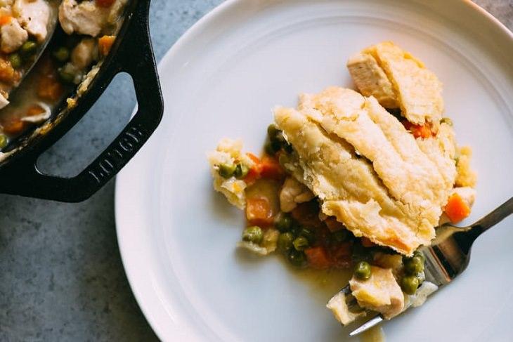 Recipe - chicken Pot Pie - 30 minutes