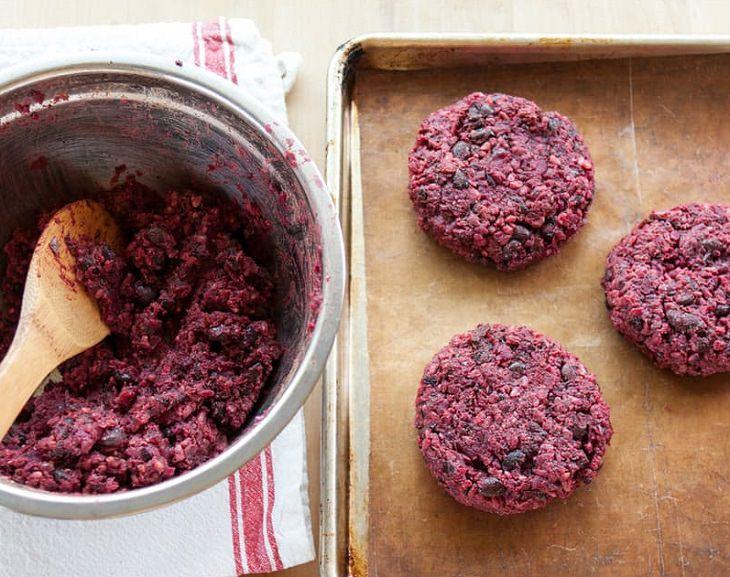 Veggie - Burgers - Beets - Beans