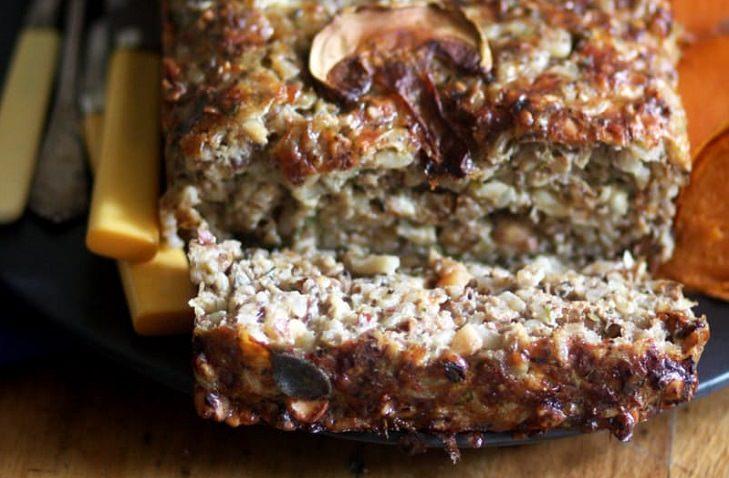 Recipe - Vegetarian - Nut Loaf