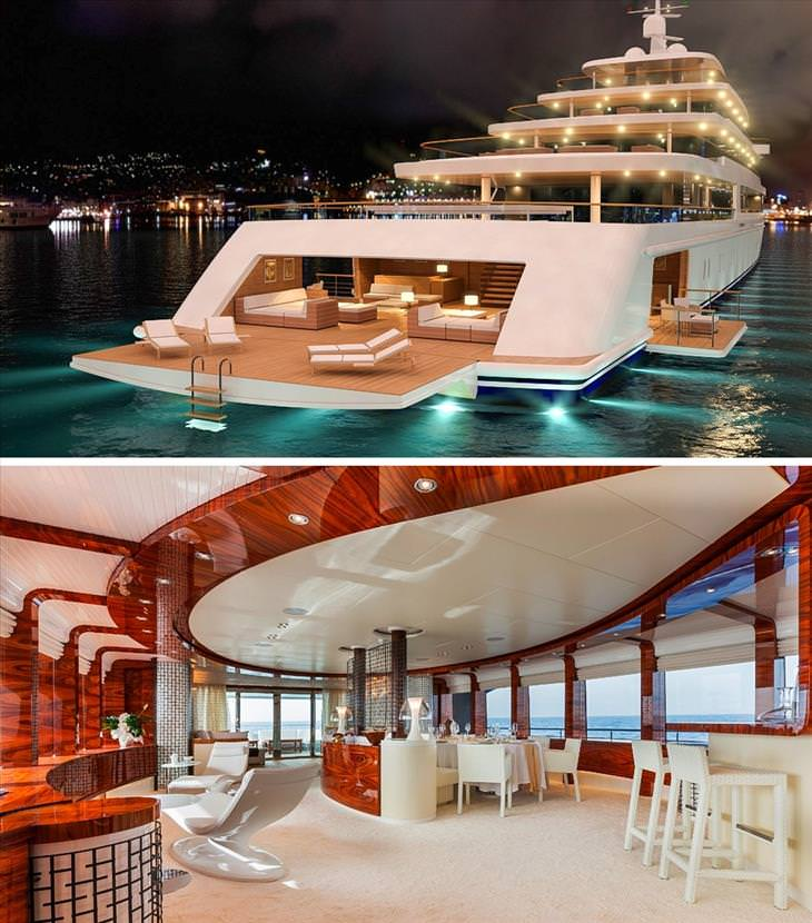10 Of The World S Most Stunning Yachts Vehicles Of Ground Air Water