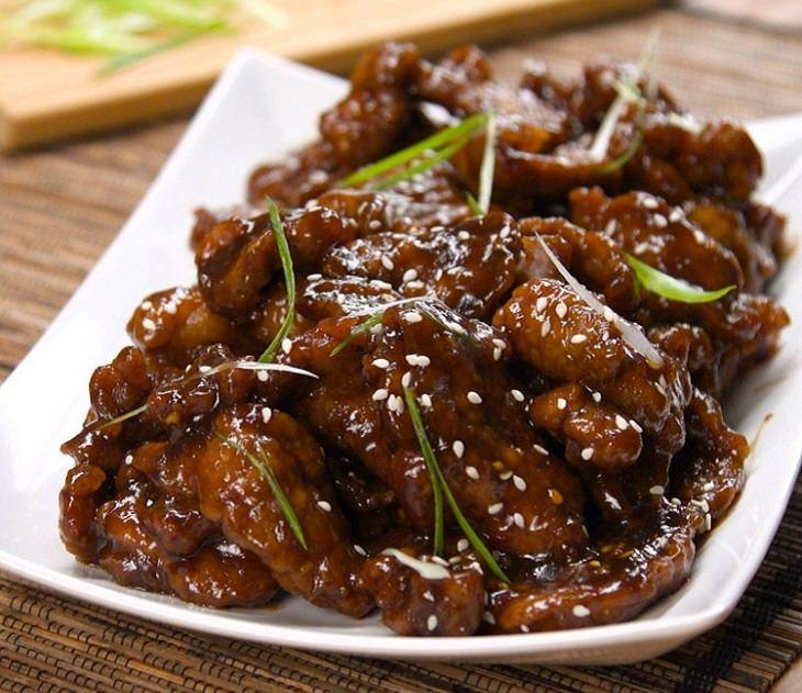 Recipe - Mongolian - Beef